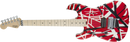 EVH Striped Series Left-Handed R/B/W