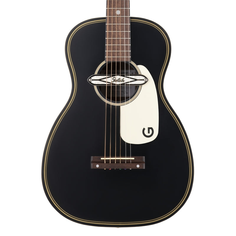 Gretsch G9520E Gin Rickey Acoustic/Electric with Soundhole Pickup - Smokestack Black