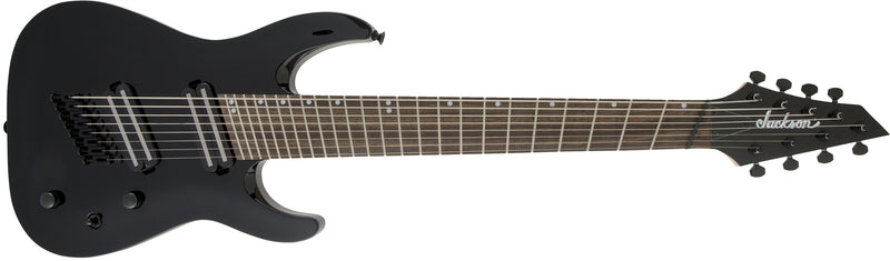 Jackson X Series Dinky Arch Top DKAF8 MS - Gloss Black