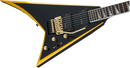 Jackson X Series RR24 Randy Rhoads Signature Floyd Rose Black with Yellow Bevels