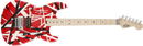 EVH Striped Series - Red Black and White Stripes - Safe Haven Music Guitars