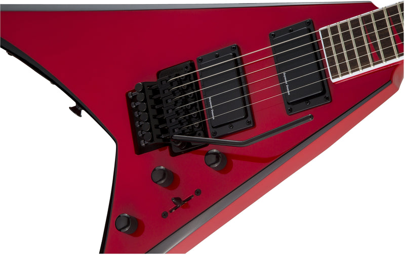 Jackson X Series Rhoads RRX24 - Red with Black Bevels