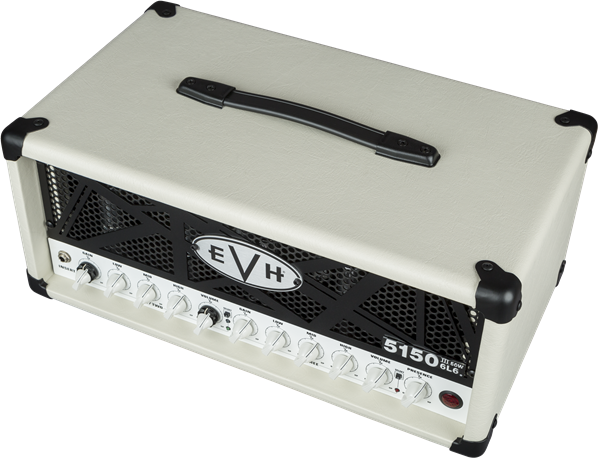 EVH 5150III 6L6 50W Head - Ivory - Safe Haven Music Guitars