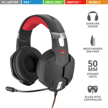 Load image into Gallery viewer, Trust Gaming GXT 322 Headset