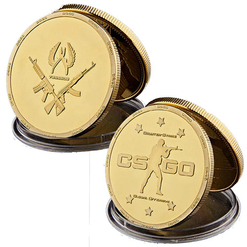 Gold Plated Collectible Coin