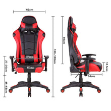 Load image into Gallery viewer, Red Ergonomic Gaming Chair