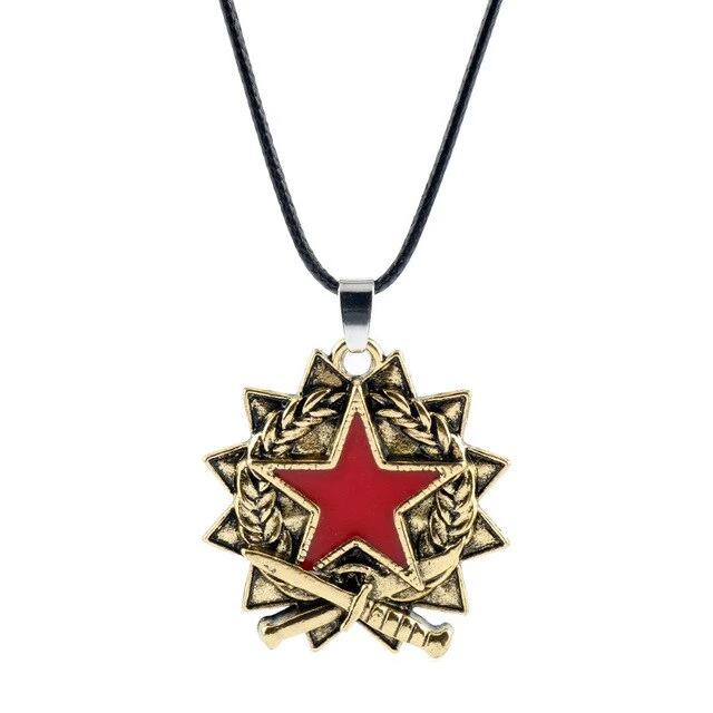 Service Medal Necklace