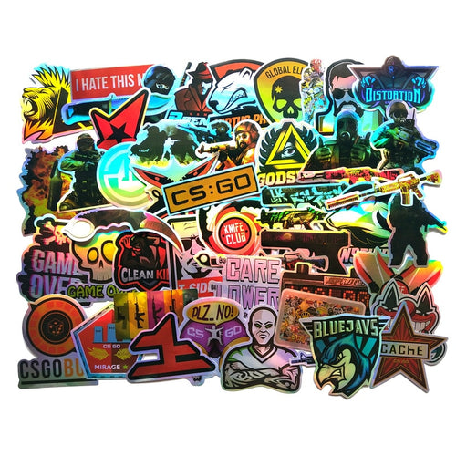 50 CSGO Holo Sticker Loot Pack
