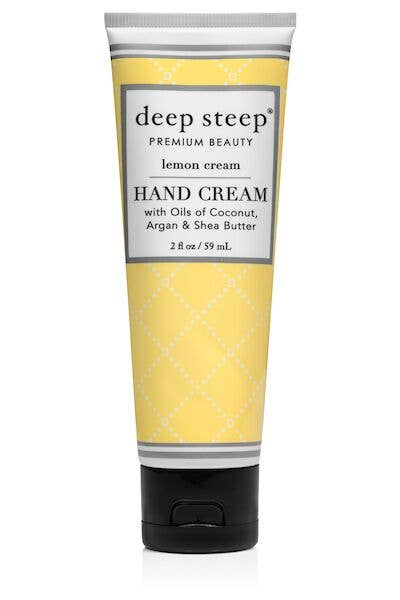 Deep Steep - 2oz Lemon Cream Hand Cream