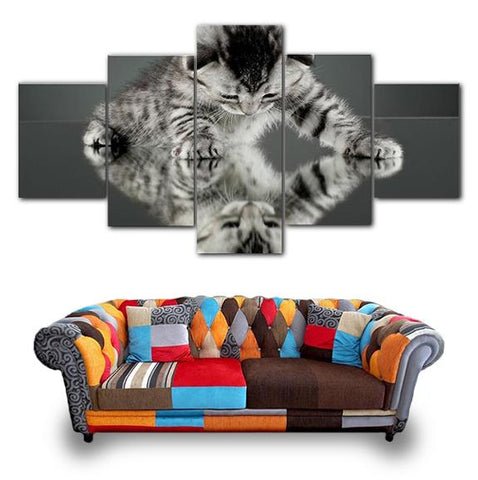 Tableau Toile Chat