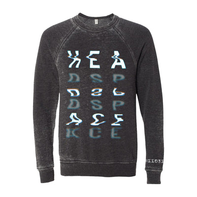 Headspace Acid Wash Grey Crewneck