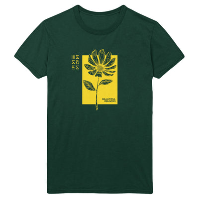 Flower Emerald T-Shirt
