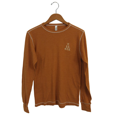 Triangle Logo Embroidered Camel Thermal