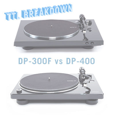 Denon DP-300F vs  DP-400 / DP-450 Turntable Review + Comparison