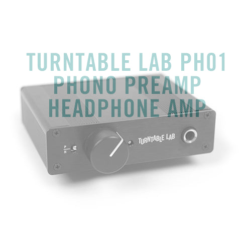Turntable Lab PH01 Phono Preamp + Headphone Amp