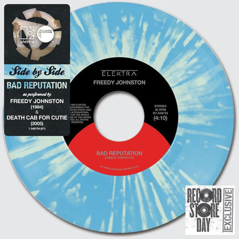 "Death Cab for Cutie: Side By Side - Bad Reputation Vinyl 7"" (Record Store Day)"