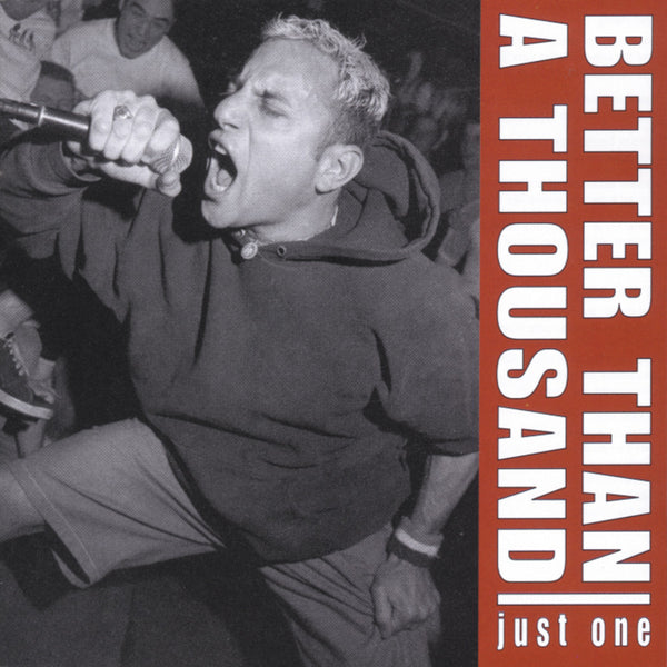 Better Than A Thousand: Just One (Colored Vinyl) Vinyl LP (Record Store Day)