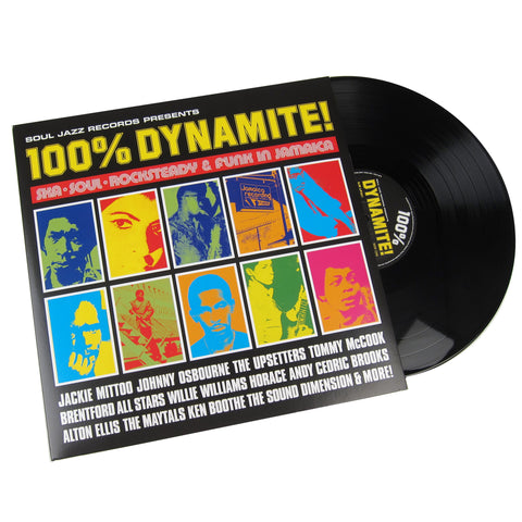 Soul Jazz Records: 100% Dynamite! - Soul, Ska, Rocksteady, Funk Vinyl 2LP
