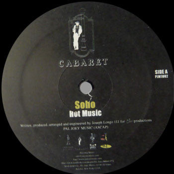Soho: Hot Music / Keep It Together 12""