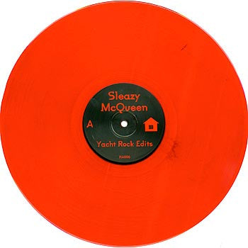 Sleazy McQueen: Yacht Rock Edits (Red Vinyl) 12""
