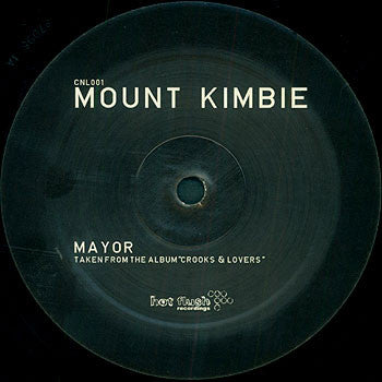 Mount Kimbie: Mayor / Would Know 12""