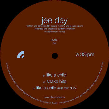 Jee Day: Like A Child 12""