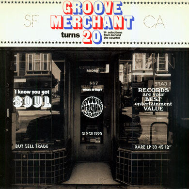 V/A: Groove Merchant Turns 20: 14 Selections From Behind The Counter 2LP