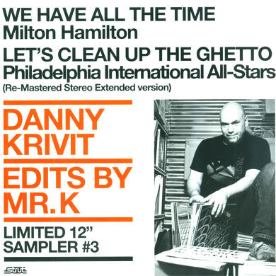 Danny Krivit: Edits By Mr. K Sampler Vol.3 12""