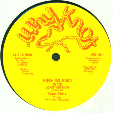 "Real Time: Fire Island 12"" (Original Pressing)"