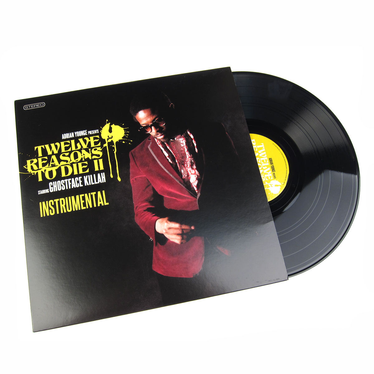 Ghostface Killah & Adrian Younge: Twelve Reasons To Die II Instrumentals Vinyl LP