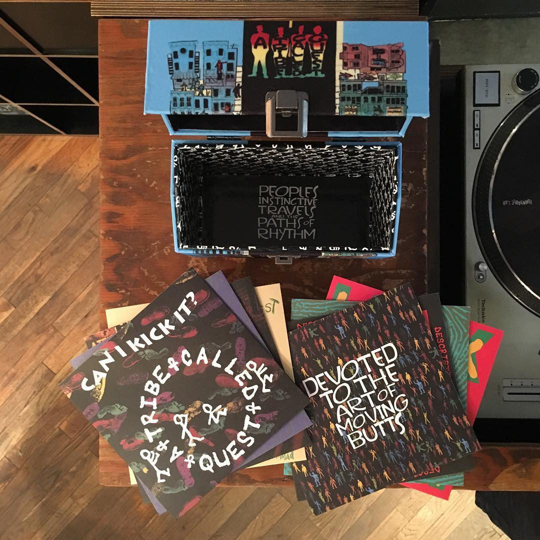 "A Tribe Called Quest: People's Instinctive Travels and the Paths of Rhythm Vinyl 8x7"" Boxset"
