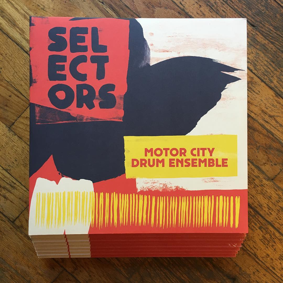 Motor City Drum Ensemble: Selectors 001 Vinyl 2LP