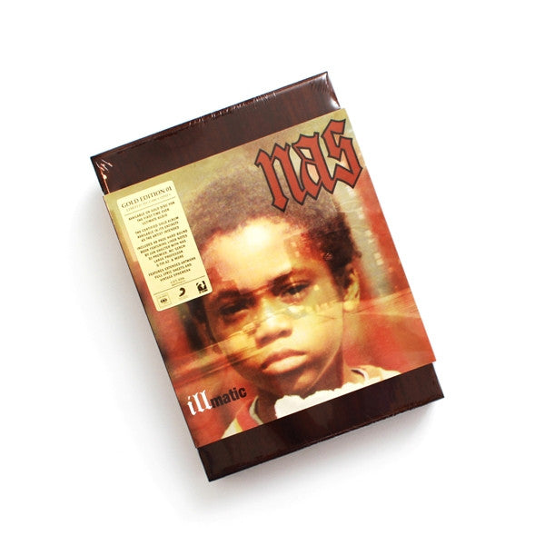 Nas: Illmatic Gold Edition CD Boxset detail 3