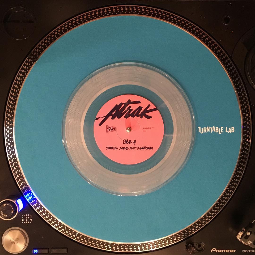 A-Trak: Parallel Lines Feat. Phantogram (Serato, Colored Vinyl) Vinyl 7""