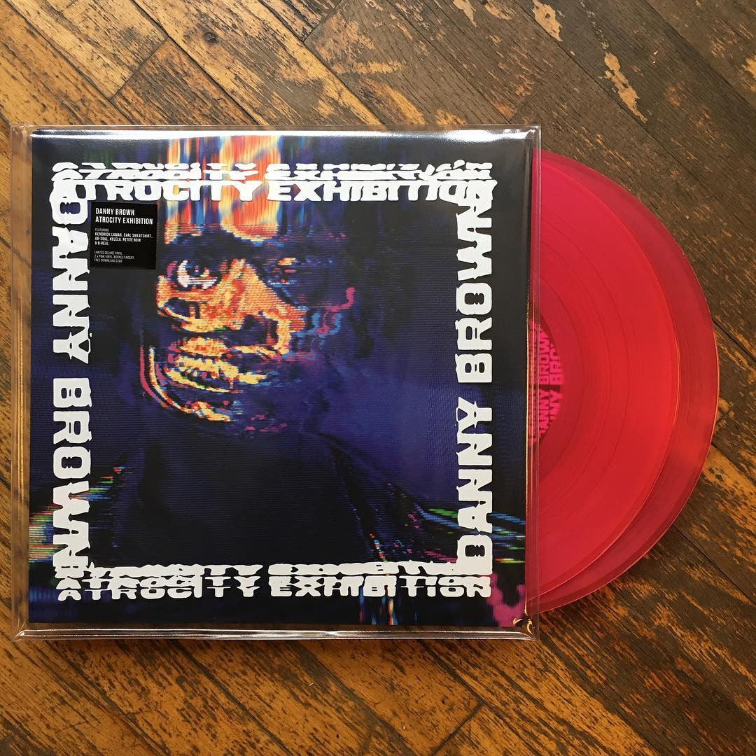Danny Brown: Atrocity Exhibition (Indie Exclusive Colored Vinyl) Vinyl 2LP