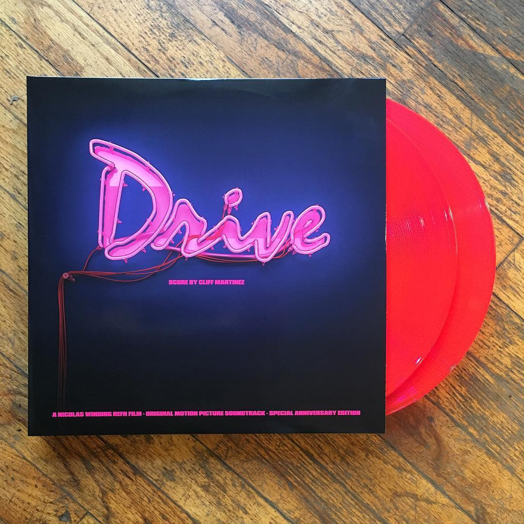 Cliff Martinez: Drive Soundtrack (Pink Colored Vinyl) Vinyl 2LP