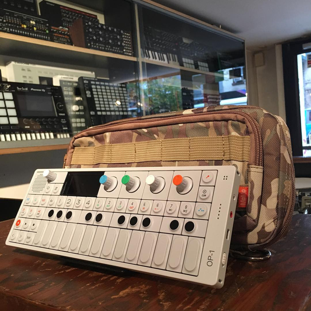 Teenage Engineering: Camo OP-1 Carrying Case by MeMe Antenna