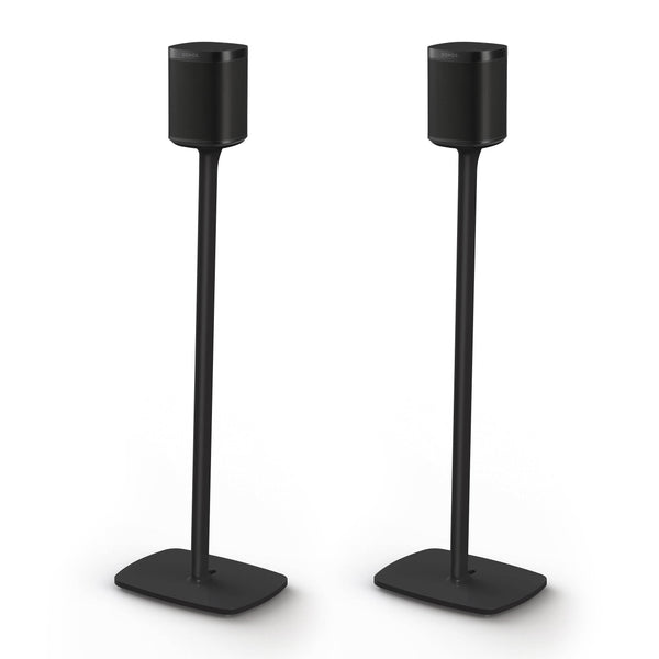 Flexson: Floor Stand For Sonos 1 - Black (Pair) (AAV-FLXS1FS2021US)