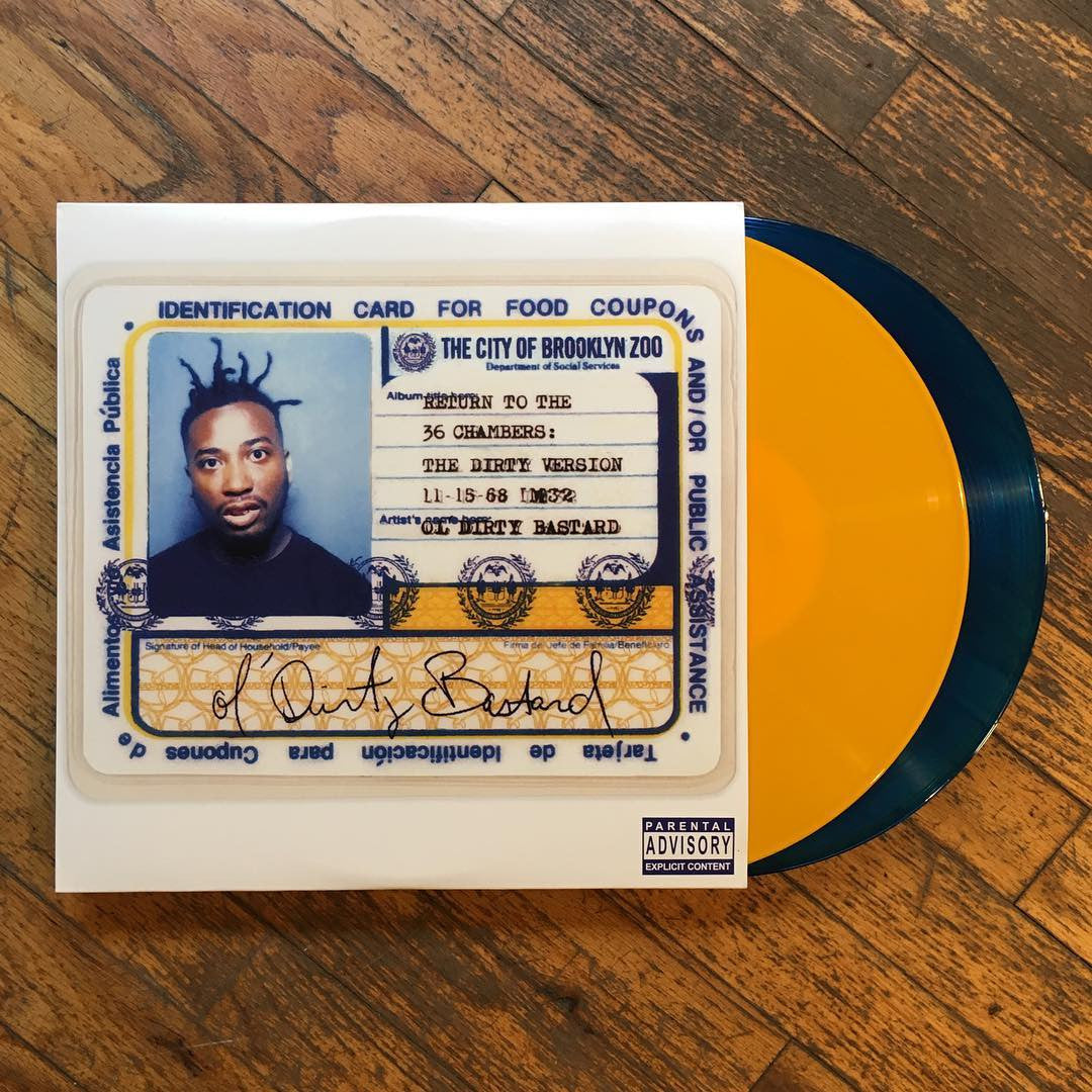 Ol' Dirty Bastard: Return to the 36 Chambers (Colored Vinyl) Vinyl 2LP