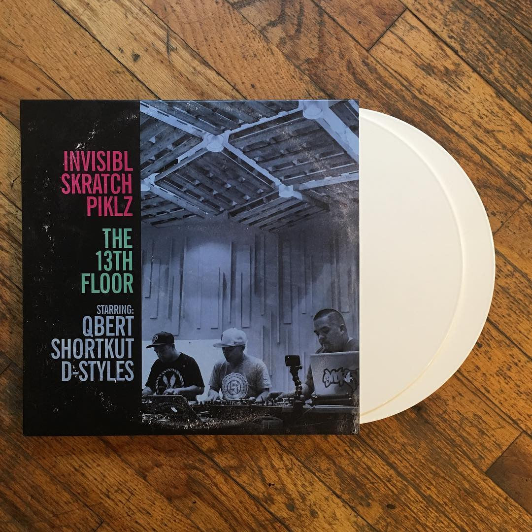 Invisibl Skratch Piklz: The 13th Floor (Colored Vinyl) Vinyl 2LP