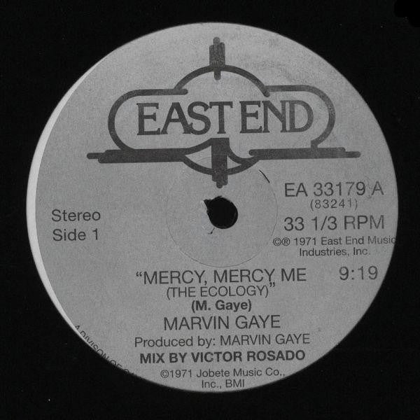 "Marvin Gaye: Mercy Mercy Me (Classic NYC 12"" Mix) 12"""