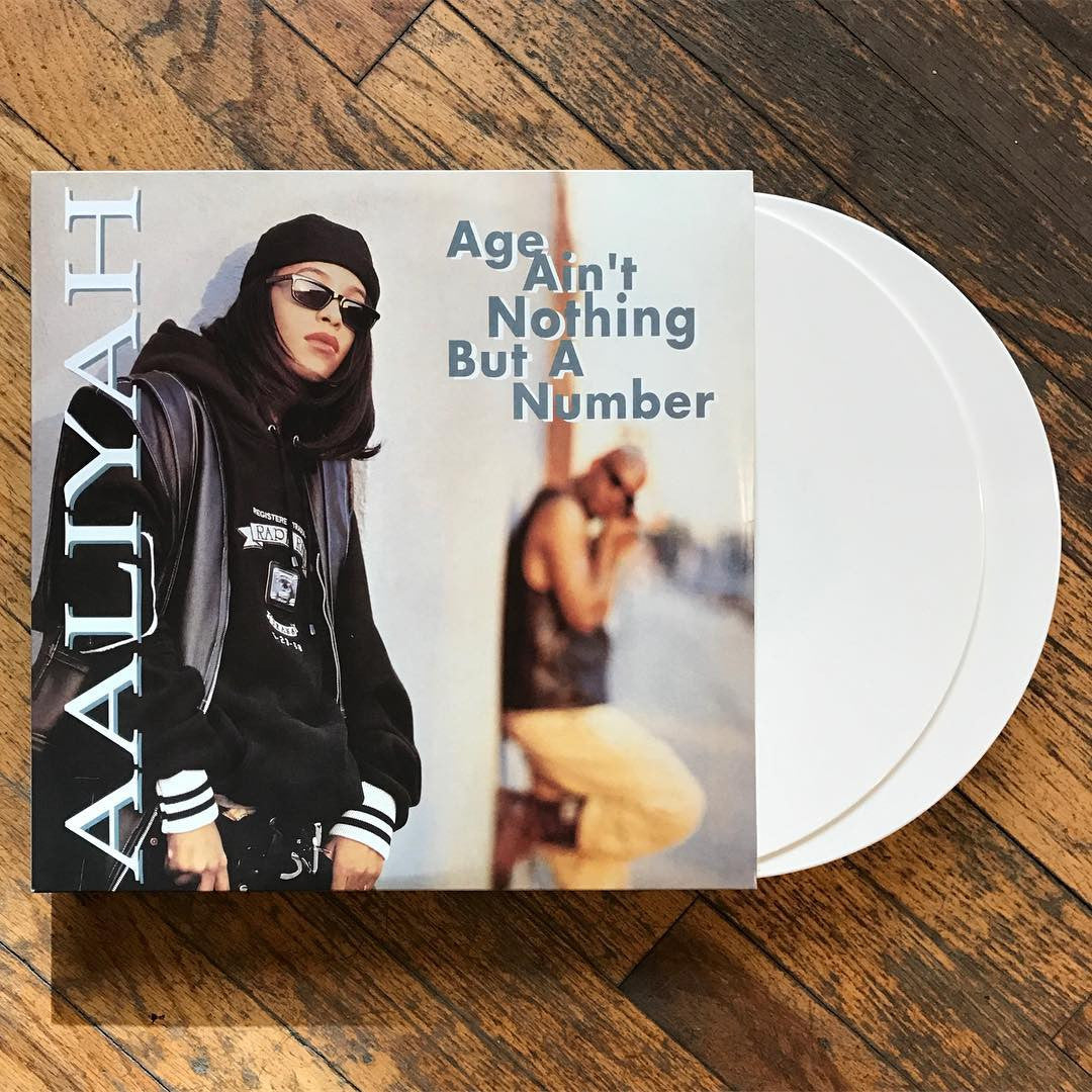Aaliyah: Age Ain't Nothing But A Number (180g, Colored Vinyl) Vinyl 2LP (Record Store Day)
