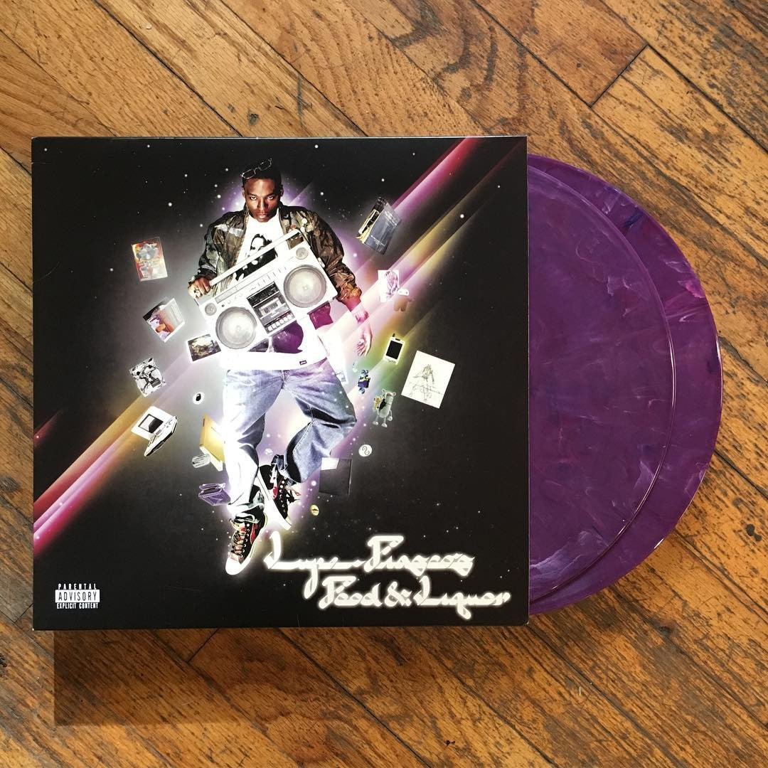 Lupe Fiasco: Lupe Fiasco's Food & Liquor (Indie Exclusive Colored Vinyl)