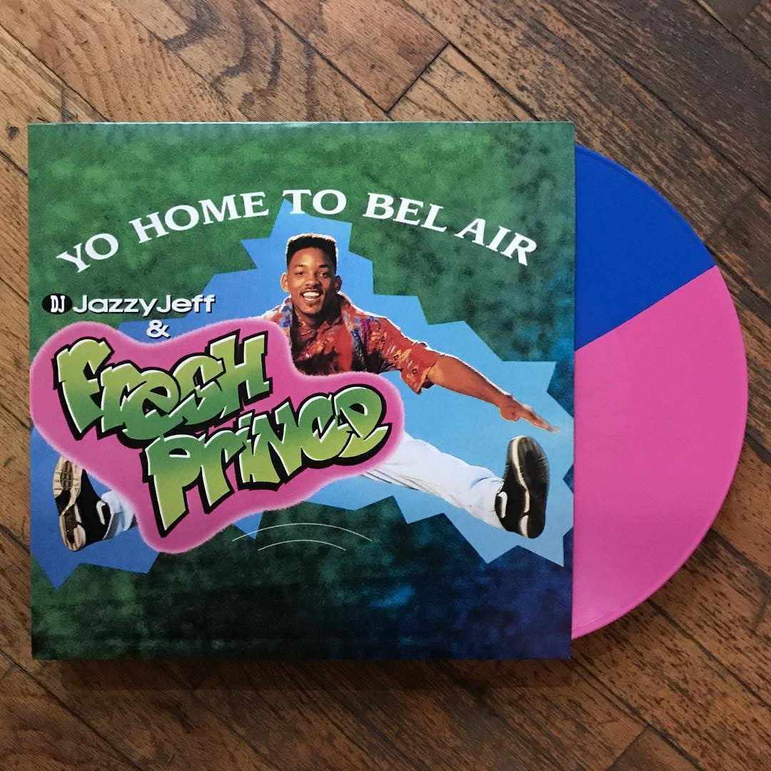 DJ Jazzy Jeff & The Fresh Prince: Yo Home To Bel Air (Colored Vinyl) Vinyl 12""