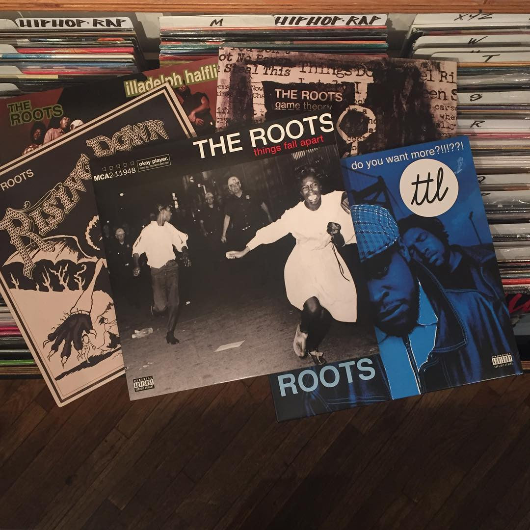 The Roots: Things Fall Apart (Record Store Day, 180g) Vinyl 2LP