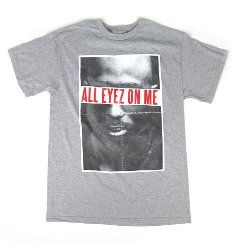 2Pac: All All Eyez On Me Shirt - Athletic Heather