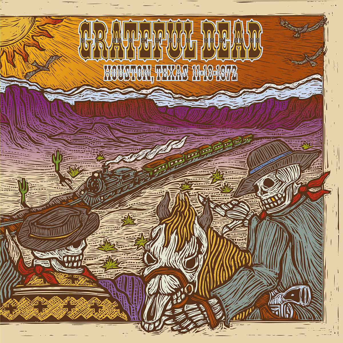 Grateful Dead: 11/18/72 Hofheinz Pavilion, Houston, TX (180g) Vinyl 2LP (Record Store Day)
