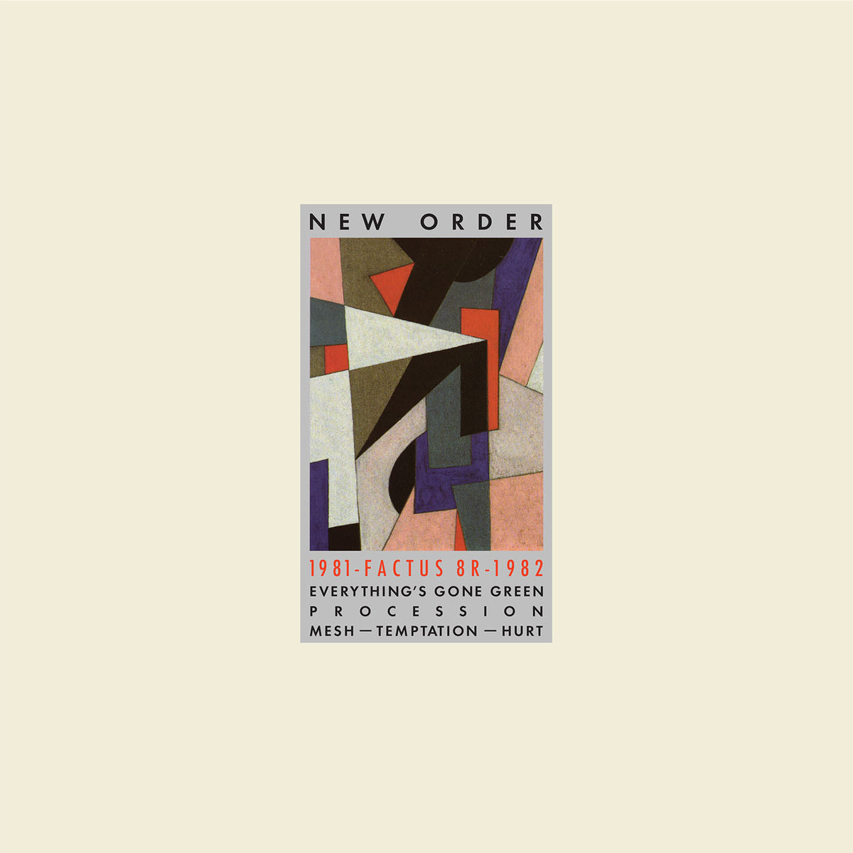 New Order: 1981-1982 (Colored Vinyl) Vinyl LP (Record Store Day)