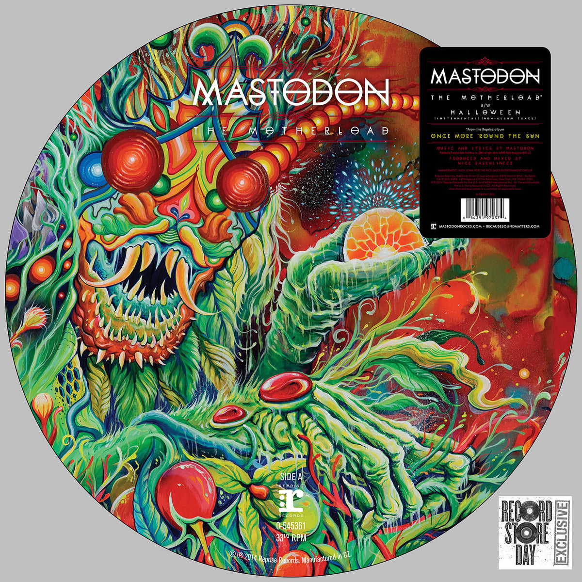 "Mastodon: The Motherload (Picture Disc) Vinyl 12"" (Record Store Day)"