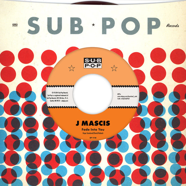 "J Mascis: Fade Into You / Outside Vinyl 7"" (Record Store Day)"